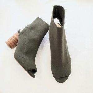 STEVE MADDEN Sunnie open toe/heel heeled booties